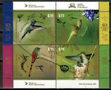 Argentina Stamps 2016 Hummingbirds Nature Birds Souvenir Sheet MNH