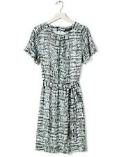 NWT Banana Republic Pleated Neck-Tie Waist Dress size Large $128