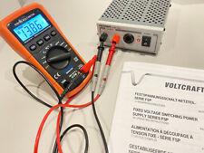 Voltcraft FSP 1207 Labornetzgerät 12V / 7A Netzteil mit Sonderzubehör - Wie NEU