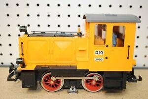 LGB 2090 D10 Diesel Switcher Locomotive (Yellow) *G-Scale*