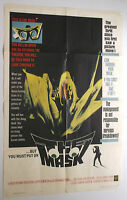 THE MASK vintage original 1961 MOVIE POSTER one sheet EARLY GIMMICK HORROR