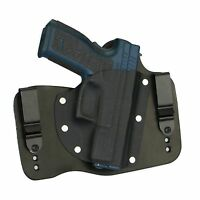 "FoxX Leather & Kydex IWB Holster Springfield XD Service Model 4"" 9/40 Black RH"