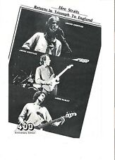 DIRE STRAITS 3 guitars Japanese magazine PHOTO/Clipping 10x7 inches