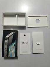 Caja Vacia iPhone 4 16Gb Black Completa con papeles LEER!