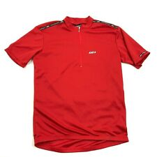 VINTAGE LG Louis Garneau Cycle Jersey 1/4 Zip Dry Fit Shirt Size Small USA MADE