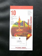 TIMBRES DU CANADA :  1992 CARNET DE 10 TIMBRES POSTE BONHEUR NOËL  ** TBE