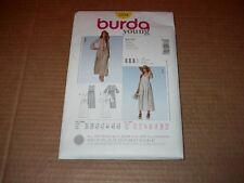 Burda Pattern 7224 Misses' Semi-fitted BOHO Dress in Two Styles ~ Sz 10 ~ 22 Unc