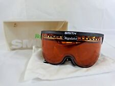 Smith Regulator Series Ski Googles 1992 Small Gold Lite Lens Fits Over Glasses