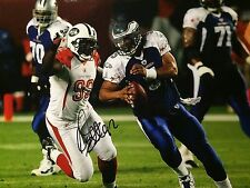 Shaun Ellis NEW YORK JETS DE Pro Bowl AUTO Color 8X10 PHOTO  NFL COA