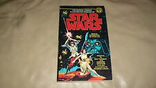 STAR WARS Paperback 1977 Marvel/Ballantine Black & White Comics Reprint