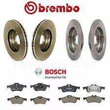 For Mini Cooper 02-07 Front & Rear Disc Brake Rotors w/ Pads Brembo Bosch