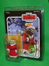 "Star Wars Gentle Giant Santa Yoda Holiday PGM Exclusive 7"" Figure mini Boba Fett"