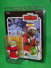 Star Wars Gentle Giant Santa Yoda Holiday Exclusive JUMBO Figure & Boba Fett NEW