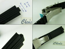HQ 8 mm/21 mm Rubber Strap 8mm/21mm Watch Band Made For ORIS TT1 Boy Midsize