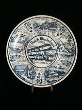 Vintage Fine American Ironstone - Pennsylvania Dutch Country Lancaster Pa Plate