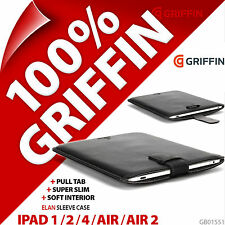 Griffin Elan Padded Pull Tab Tablet Sleeve for iPad 1 / 2 / 3 / 4 / Air / Air 2