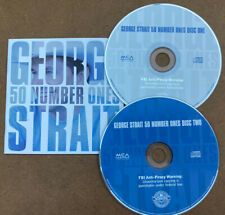George Strait - 50 Number Ones - 2 CD SET - Discs And Booklet Free Shipping