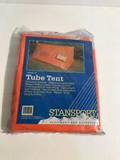 STANSPORT TUBE TENT Shelter Ground Cloth High Visibility Orange No 712 8' 15oz