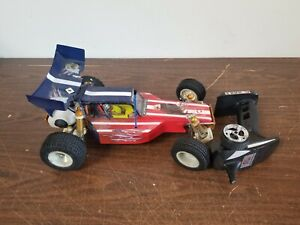 Vintage Team Associated RC10 Gold Pan Buggy 1/10 Works with Semi Working Remote