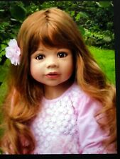"""Masterpiece Dolls Coco Strawberry  Blonde Wig, Fits Up To A 19"""" Head"""