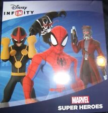 COMPLETE Set 40 DISNEY INFINITY 2.0 Marvel Super Heroes Power Disc with Album