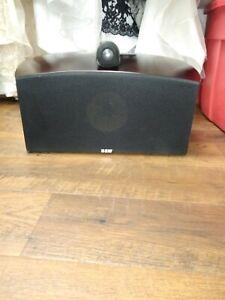 B&W Bowers and Wilkins Nautilus HTM2 center speaker cherry wood finish