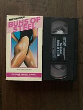 1993 The Original Buns Of Steel With Greg Smithey - VHS- Intense Target Toning