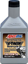 AMSOIL MCV Synthetic 20W50 Motorcycle Oil (1 Quart/946ml)