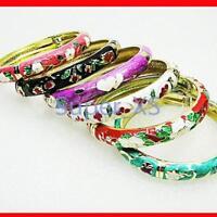 12pcs Wholesale China Unique Cloisonne Bracelets Jewelry Lots