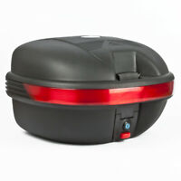 25L MOTORCYCLE TOP BOX Motorbike Helmet Luggage Storage Case Moped Universal