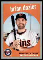 2018 TOPPS ARCHIVES SILVER BRIAN DOZIER 38/99 MINNESOTA TWINS #42 PARALLEL