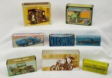 Lot Of 8 Vintage Cars Avon Men'S After Shave Decorative Collector Bottles Unused