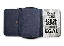 Damen Tasche Geldbörse Portemonnaie IST MIR EGAL 2  Spruch Zitat