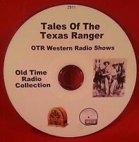 Tales of the Texas Rangers 92 Old Time Radio Shows OTR MP3 CD Audio Book