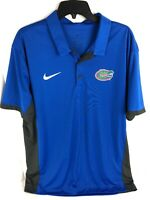 Nike Mens Dri-Fit Short Sleeve Polo Shirt UNIVERSITY OF FLORIDA GATORS UF XL EUC