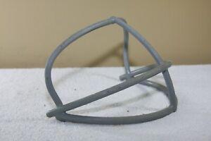 Vtg 1970s Riddell stainles steel Football Helmet Facemask Gray NOP 57