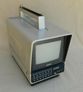 SONY KV-5200 Color Trinitron Portable Television TV and Accessories