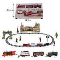 Classic remote control electric smoke orbit train simulation model steam trains