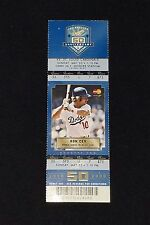 CLAYTON KERSHAW MLB DEBUT BASEBALL GAME FULL UNUSED SEASON TICKET STUB RARE!