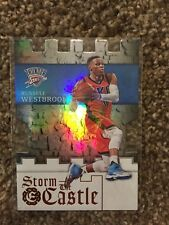 2016-17 Panini Excalibur Russell Westbrook Storm The Castle No. 21