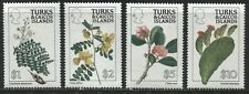 Turks & Caicos Plants definitives various values to $10 mint o.g.