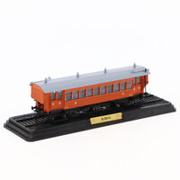 1/87 ATLAS TRAIN MODEL LA REMORQUE DE LA BANLIEUE OUEST B-9014 RARE COLLECTION