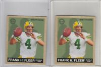 1997 Fleer Goudey #105 Brett Favre  Lot of 2