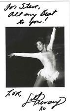 Jill Trenary Signed Postcard Photo / Autographed Figure Skating Olympics