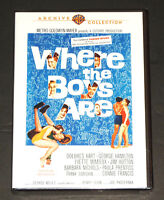 Where the Boys Are (DVD, 1960) Dolores Hart, George Hamilton, New & Sealed