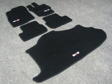 Black Car Mats - Mitsubishi Lancer Evo 10 RHD AUTO (Evo X) + RalliArt + Boot Mat