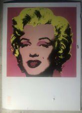 Collector Postcard Marilyn Monroe Painting By Andy Warhol Posted 2010