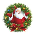 Christmas Wall Stickers Clings Decal Decoration Glass Home Pvc Removable