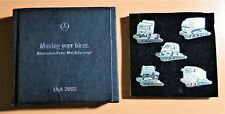 Mercedes Benz Pin Set véhicules utilitaires camions Bit 2002 Limited Edition 935 Argent