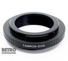TAM-EOS Tamron Adaptall 2 Fit Lens to Canon EF EOS Mount Adapter Ring - UK Stock